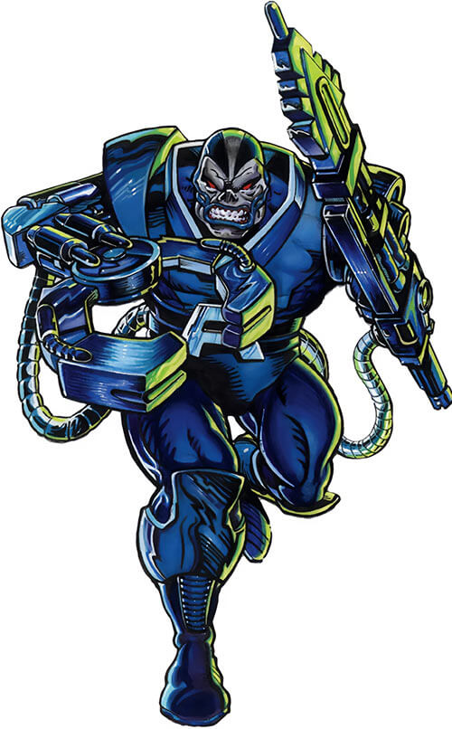 Apocalypse (Marvel Comics) with mechanical arms