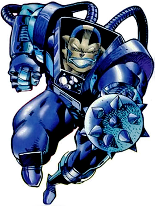 Apocalypse (Marvel Comics) with a mace hand