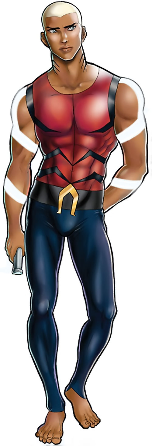 Aqualad from the Young Justice cartoon by Winter