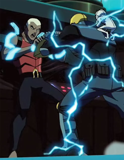 Aqualad from the Young Justice cartoon vs. Guardian