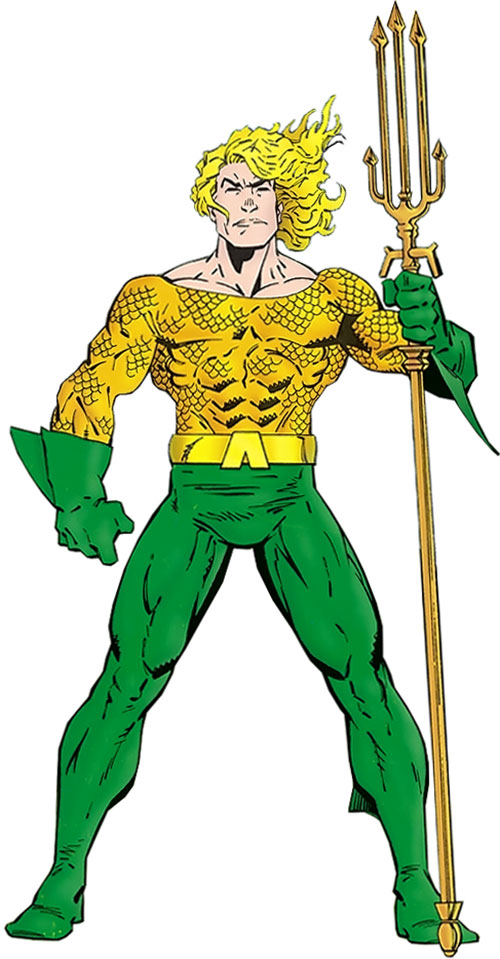 Aquaman by Erik Larsen