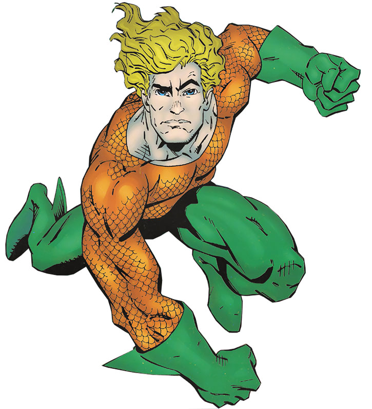 Aquaman by Erik Larsen (presumably)