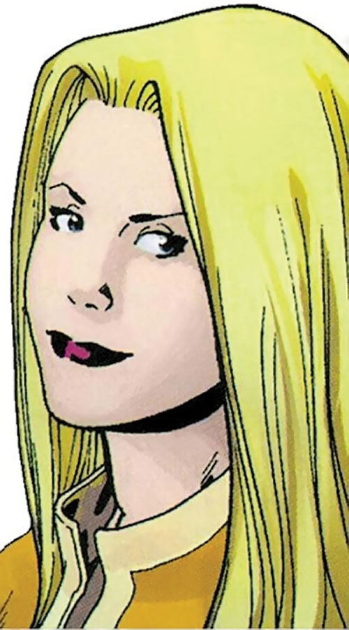 Aralune of the Order (Marvel Comics) (Matt Fraction) face closeup