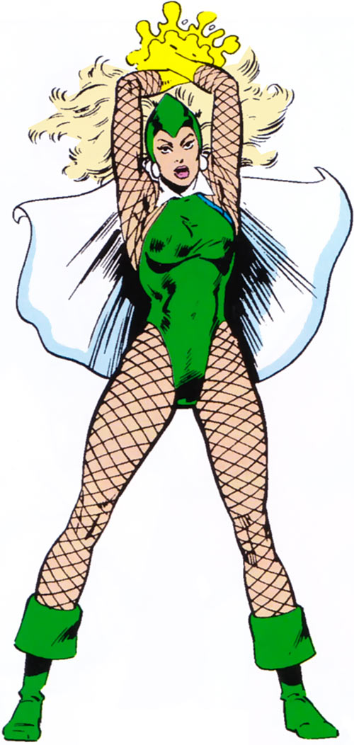Arcanna (Marvel Comics) (Squadron Supreme) in her older costume