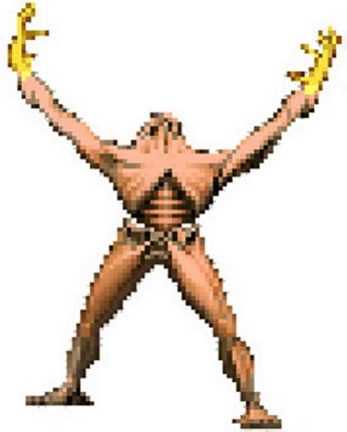 Arch-Vile (Doom video game) invoking
