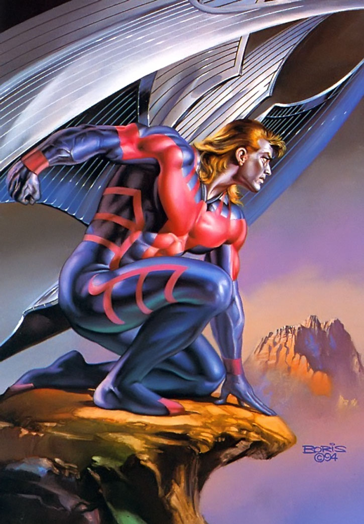 X Men Angel Wings