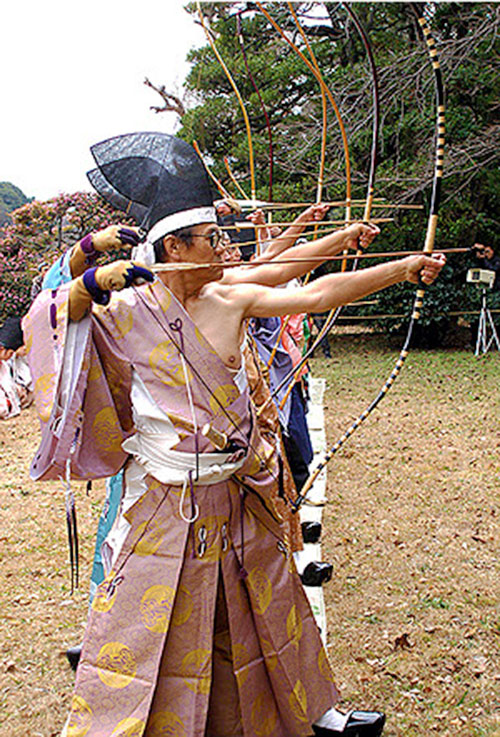 Traditional Japanese archery competition