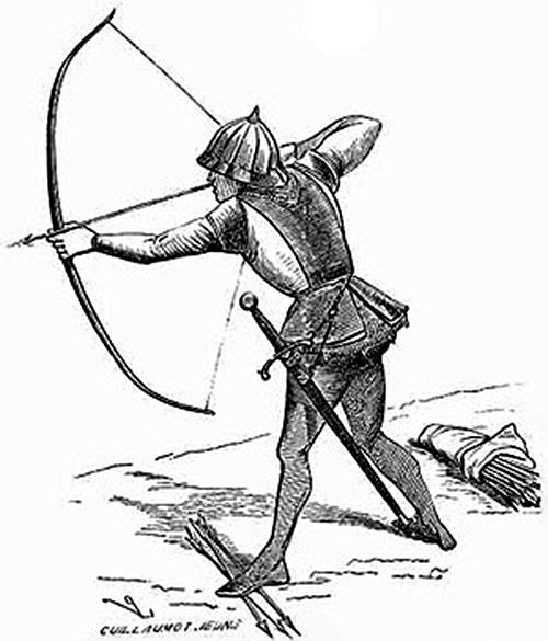 Medieval European archer