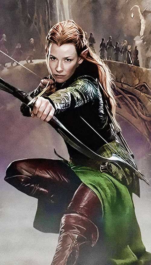Tauriel in The Hobbit movie