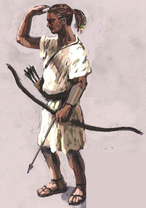 An historical African archer