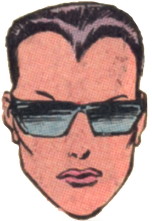 Arclight of the Marauders face closeup with glasses and short hair (Marvel Comics)
