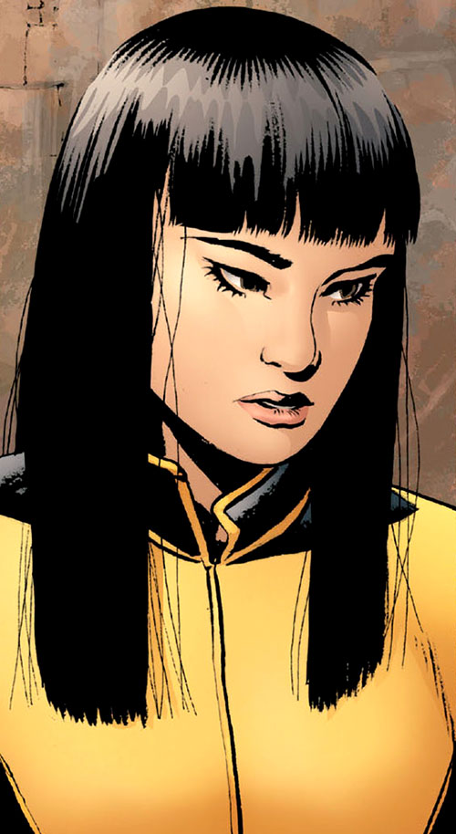 Armor of the X-Men (Hisako Ichiki) (Marvel Comics) portrait