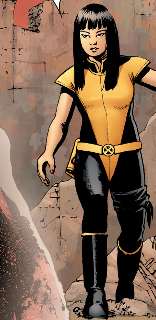 Armor of the X-Men (Hisako Ichiki) (Marvel Comics) on Breakworld