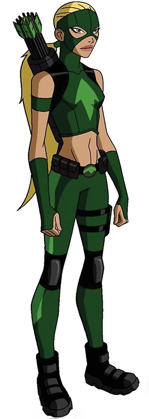 Artemis of Young Justice (TV Cartoon series)
