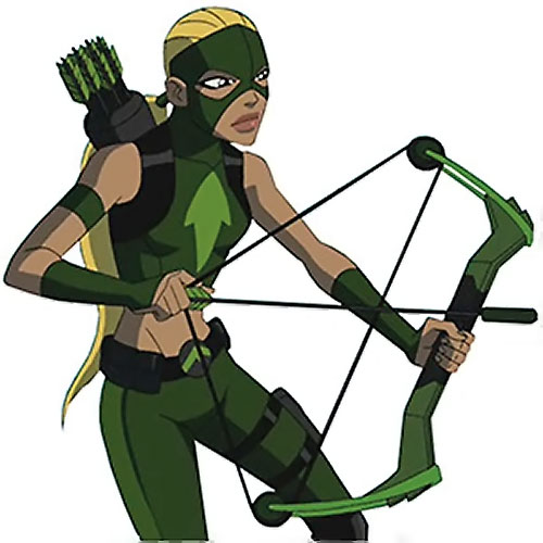 Artemis of Young Justice (TV Cartoon series) drawing