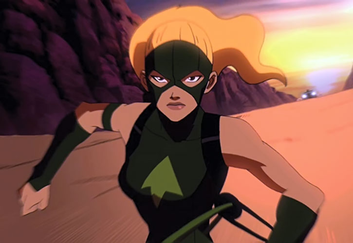 Artemis - Young Justice cartoon series - Character profile ...