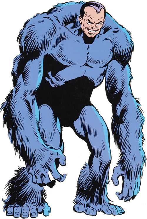 Arthur Nagan (Marvel Comics) the gorilla with a human head