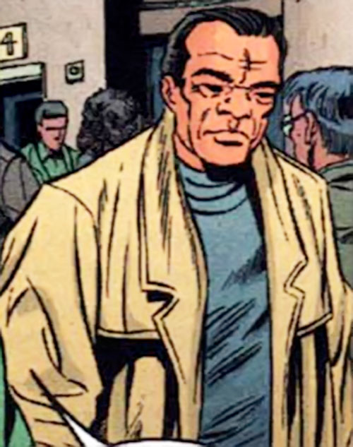 Asano Nitobe (Manhunter / DC Comics) in his civvies