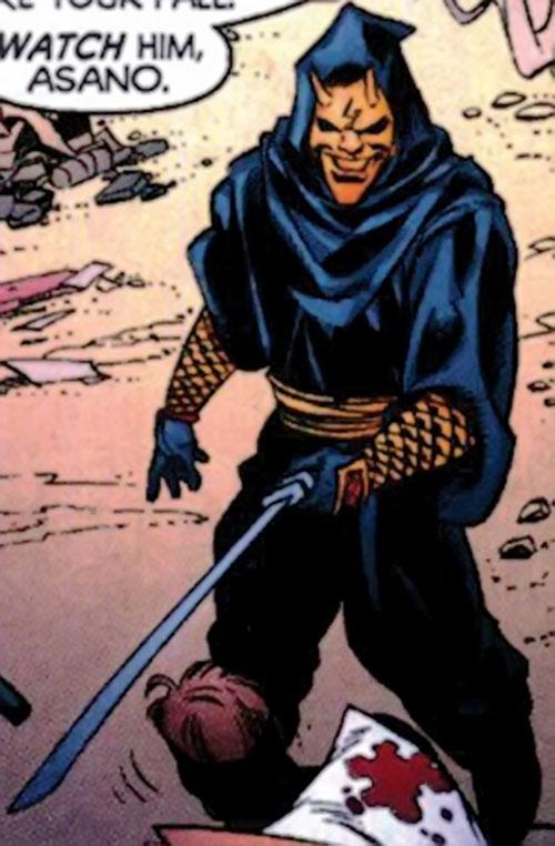 Asano Nitobe (Manhunter / DC Comics)