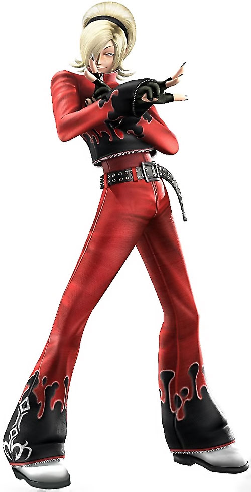 Ash Crimson from King of Fighters