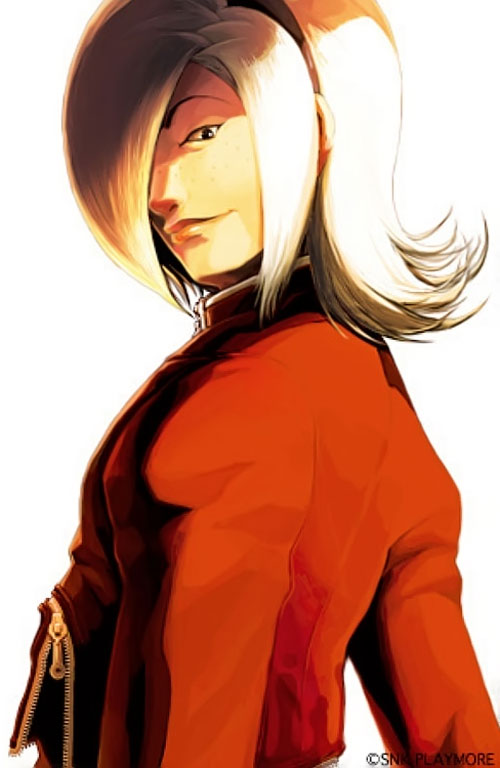 Ash Crimson from King of Fighters portrait
