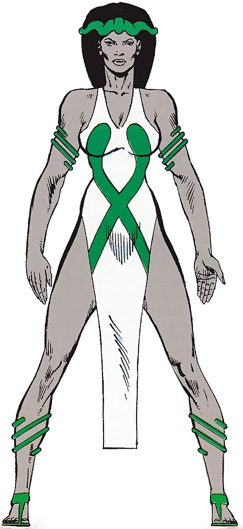 Asp (Marvel Comics) from the Master Edition handbook