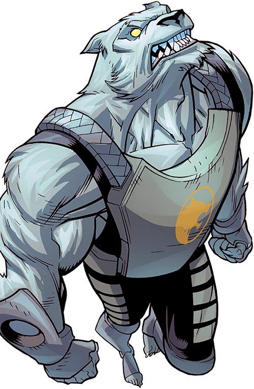 Astounding Wolf Man (Image Comics Kirkman) leaping up