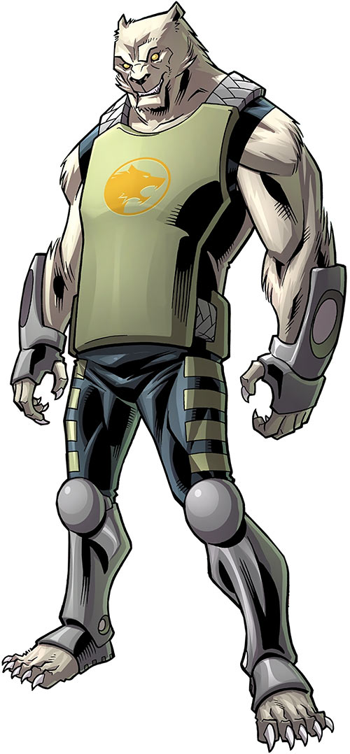 Astounding Wolf Man (Image Comics Kirkman) breastplate costume