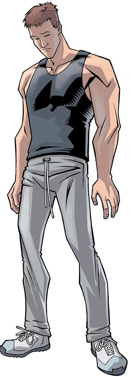 Astounding Wolf Man (Image Comics Kirkman) human form Gary Hampton