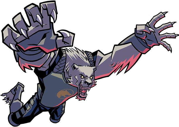 Astounding Wolf Man (Image Comics Kirkman) - More leaping werewolf