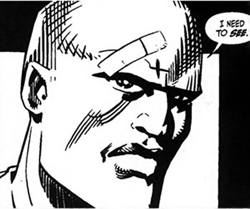 The Atheist (Antoine Sharpe) (Desperado Image Comics) with band-aid on his brow