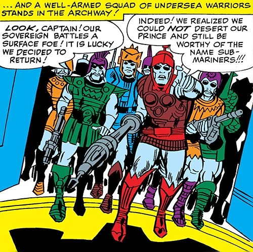 Group of Atlantean Soldiers (Marvel Comics)
