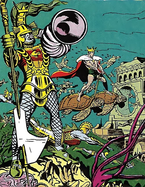 Atlantean Soldiers (Marvel Comics)