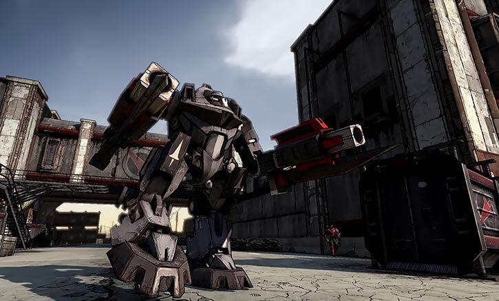 Atlas Corporation (Borderlands games) Devastator mecha