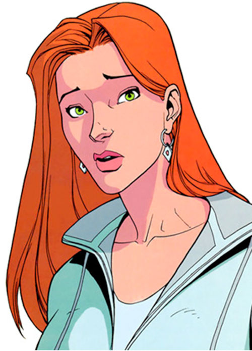 Atom Eve (Invincible comics) portrait