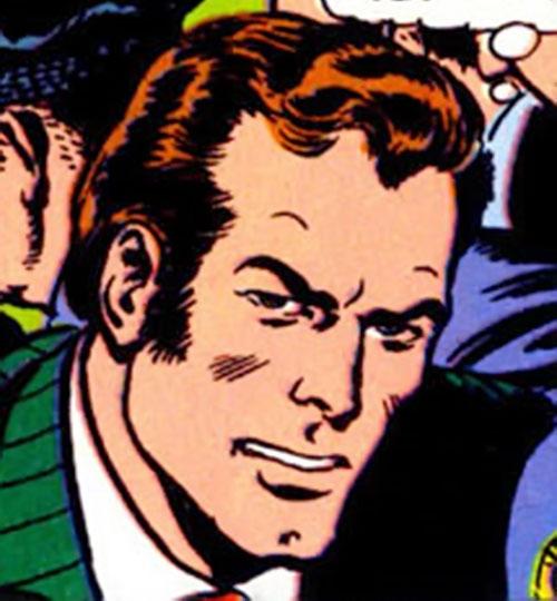 The Atom (Ray Palmer) (DC Comics) face closeup