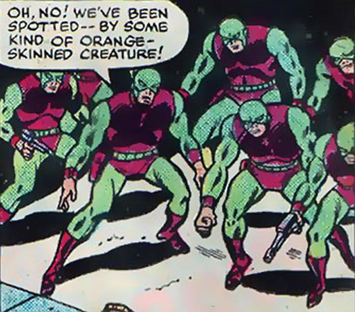 Henchmen of the Atom-Smasher in uniform