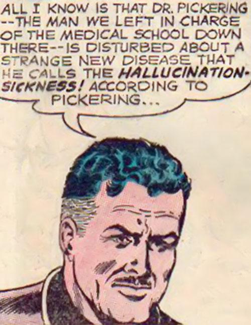 Atomic Knights (DC Comics) - Bryndon face closeup