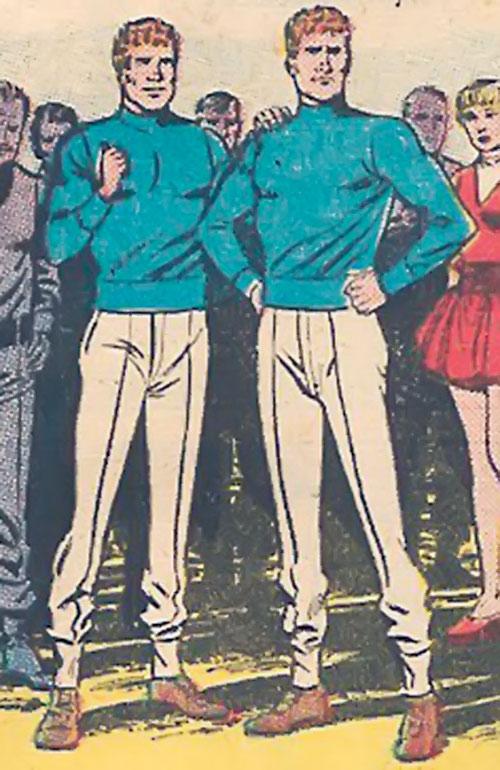 Atomic Knights (DC Comics) - Wayne and Hollis Hobard