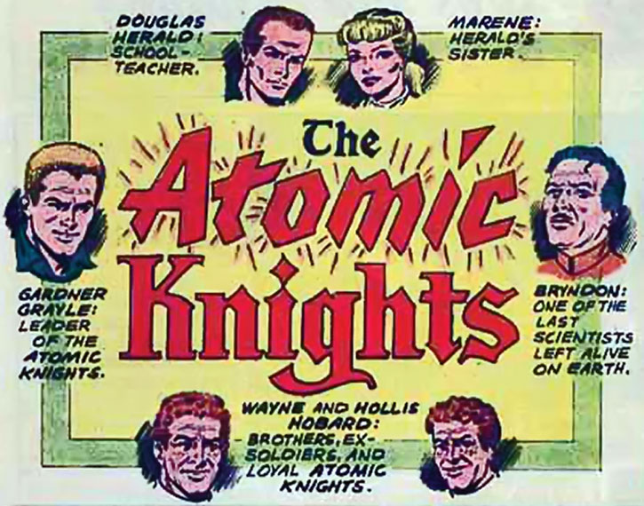 The Atomic Knights' roster