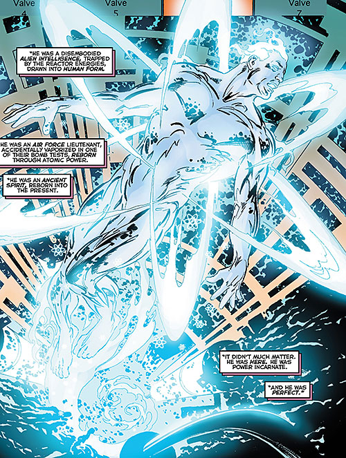 Atomicus (Astro City comics) makes his appearance
