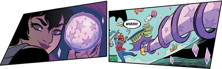 Attache (Hellcat character) (Marvel Comics) tentacle artefact