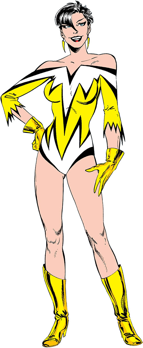 Aurora of Alpha Flight (Marvel Comics) (Yellow costume)