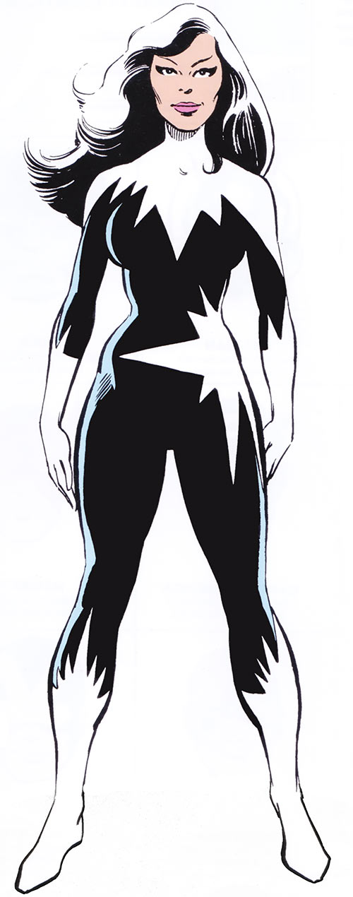 Aurora of Alpha Flight (Marvel Comics) (Black and white costume)