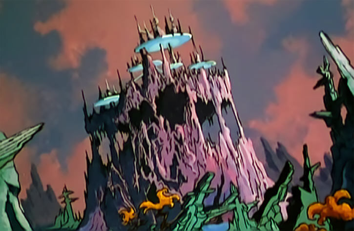 Masters of the Universe (1980s cartoon) - Avion city