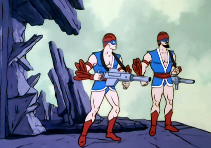 Masters of the Universe (1980s cartoon) - Avion soldiers
