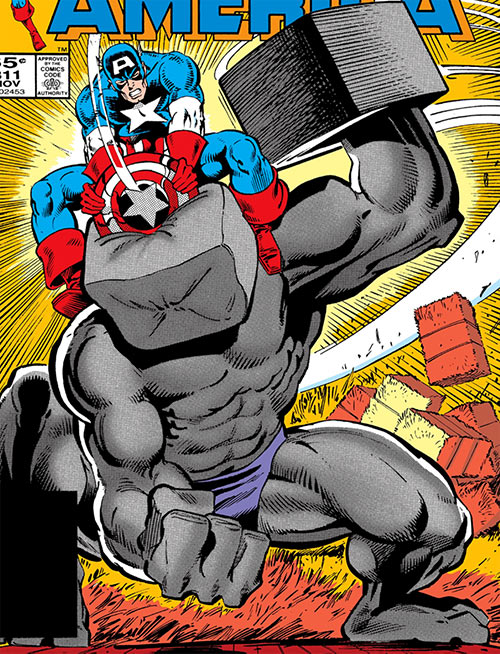 Awesome Android (Marvel Comics) vs. Captain America