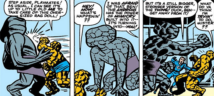The Awesome Android fights the Thing