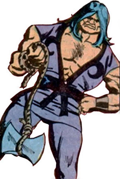 The Axeman (Richard Dragon enemy) (DC Comics)