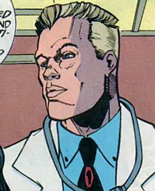 Aztek (DC Comics) as Curt Falconer